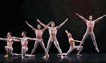 """Paul Taylor Dance Company in """"Arden Court"""" Photo by Paul B. Goode"""