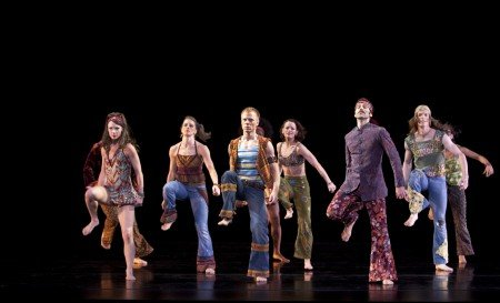 "Members of Paul Taylor Dance Company in ""Changes"" Photo by Paul B. Goode"