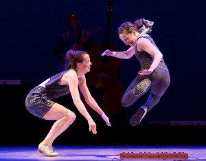 Dorrance Dance in ETM: Double Down,                                                                                           photo by Elliott Franks