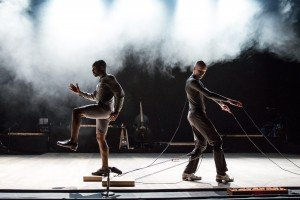 Dorrance Dance in ETM: Double Down, photo by Matthew Murphy