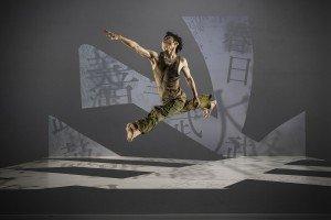 Tsai Ming-yuan of Cloud Gate Dance Theatre of Taiwan in Lin Hwai-min's Formosa, photo by Liu Chen-hsiang