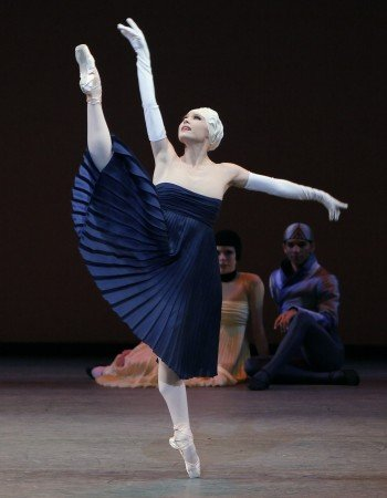 "Sara Mearns in a prior performance of Alexei Ratmansky's ""Namouna, A Grand Divertissement"" Photo by Paul Kolnik"