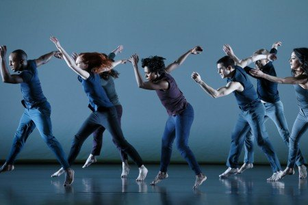 "Paul Taylor Dance Company  in Doug Varone's ""Half Life"" Photo by Paul B. Goode"