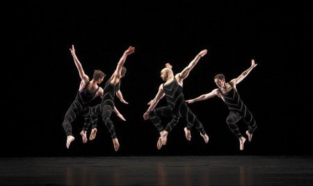 "Paul Taylor Dance Company in ""Promethean Fire"" Photo by Paul B. Goode"