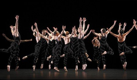 "Paul Taylor Dance Company in ""Promethean Fire"" Photo by Paul B. Goode"
