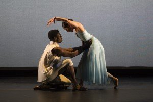 The Washington Ballet's Maki Onuki and Brooklyn Mack in Gemma Bond's Myriad, photo by media4artists Theo Kossenas