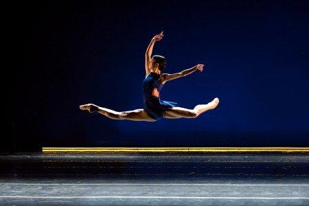 "Tulsa Ballet dancer Madalina Stoica  in Annabelle Lopez Ochoa ""Shibuya Blues"" Photo by Francisco Estevez"