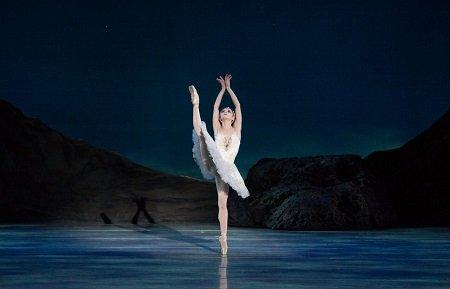 Pennsylvania Ballet Principal Dancer Oksana Maslova in Swan Lake Photo: Alexander Iziliaev