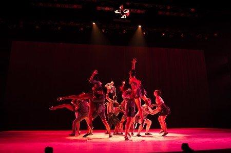"Ballet Hispanico dancers  in Carlos Pons Guerra's ""Waiting for Pepe"" Photo by Paula Lobo"