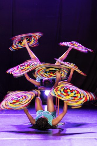 Circus Abyssinia - Cloth-Spinning Photo Credit: Andrey Petrov