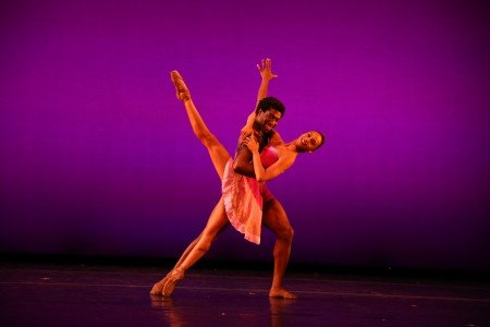 "Amanda Smith and Da' Von Doane in Darrell Grand Moultrie's ""Harlem On My Mind"" Photo by Dave Andrews"