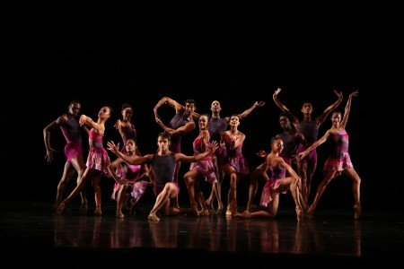 "Members of Dance Theatre of Harlem in Darrell Grand Moultree's ""Harlem On My Mind"" Photo by Dave Andrews"