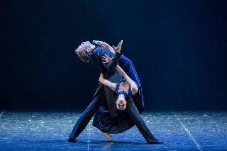"Daria Reznik and Igor Subbotin in Boris Eifman's ""Anna Karenina"" Photo by Evgeny Matveev"