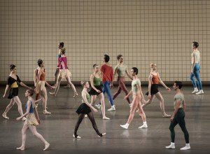NYCB in Jerome Robbins's Glass Pieces, photo by Paul Kolnik