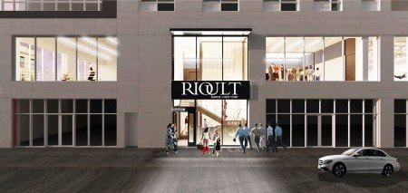 RIOULT Dance Center (artist rendering; street view) Courtesy of Architecture Outfit