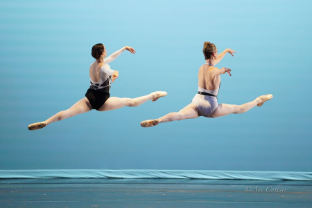 """Stephanie Williams and Allynne Noelle in Tom Gold's """"Rapid Oxidation"""" Photo by Ani Collier"""
