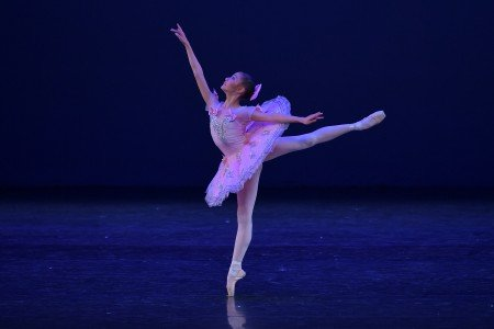 "Rebecca Alexandria Hadibroto in a variation from ""Fairy Doll"" at the YAGP Gala Photo by VAM Productions"