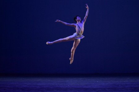 "Enrique Emmanuel Bejarano Vidal in a variation from ""Diana & Acteon"" at the YAGP Gala Photo by VAM Productions"