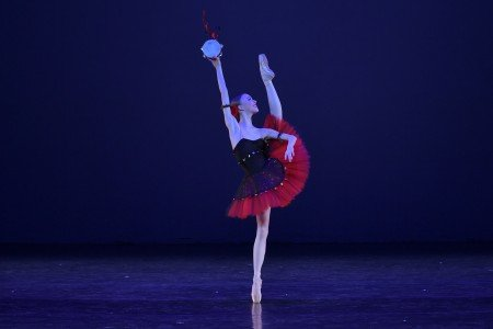 "Elisabeth Beyer in a variation from ""La Esmeralda"" at the YAGP Gala Photo by VAM Productions"