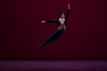 "Yuma Matsuura in a variation from ""Don Quixote"" at the YAGP Gala Photo by VAM Productions"