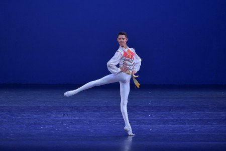 Edvinas Jakonis in the YAGP 2018 Final Round Photo by VAM Productions