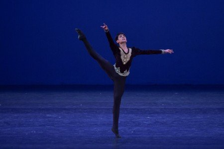 Enrique Emmanuel Bejarano Vidal in the YAGP 2018 Final Round Photo by VAM Productions