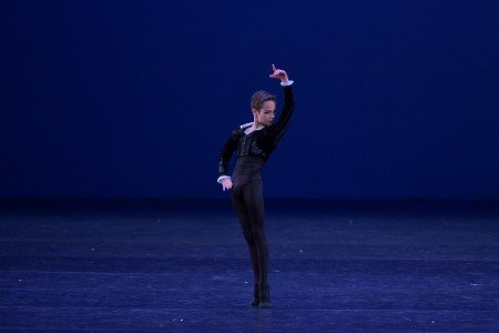 Misha Broderick in the YAGP 2018 Final Round Photo by VAM Productions