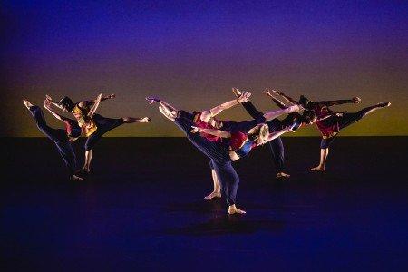 """Amy Marshall Dance Company in """"Shakambhari"""" Photo by David Gonsier"""