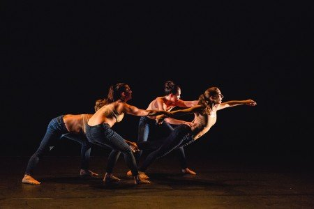 "Ariel Rivka Dance in Chanel DaSilva's ""Necessary Evil"" Photo by David Gonsier"