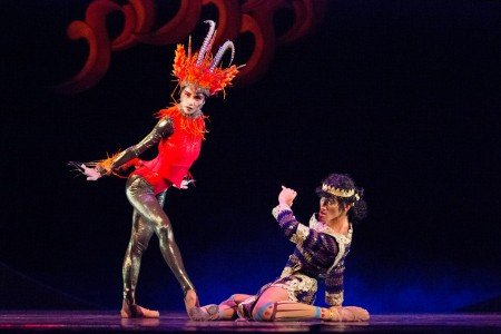 "Rita Angela Winder and Garry Corpuz in George Birkadze's ""Firebird"" Photo by Justin Bella Alonte"