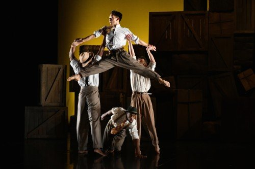 Phoenix Dance Theatre in Windrush Photo: Brian Slater