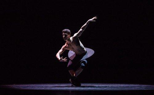 "Luca Curreli in Garrett Smith's ""Imitations"" Photo: Amitava Sarkar"