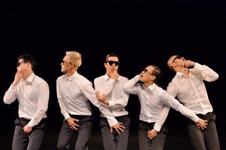 "Members of Ambiguous Dance Company  in Kim Bo-Ram's ""Rhythm of Human"" Photo courtesy of San Francisco  International Arts Festival"