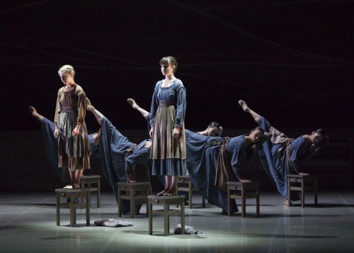 Northern Ballet dancers in Jane Eyre. Photo Caroline Holden