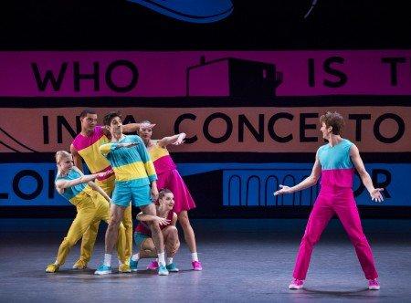 "Members of New York City Ballet in Justin Peck's ""Easy"" Photo by Paul Kolnik"