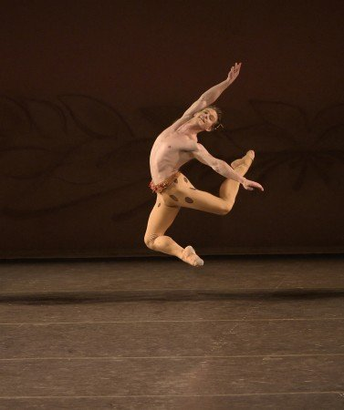 "Daniel Ulbricht in Jerome Robbins's ""The Four Seasons"" Photo by Paul Kolnik"