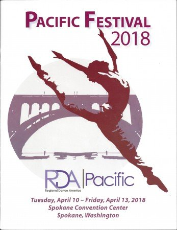Program Cover for Regional Dance America/Pacific Festival 2018