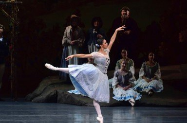 "Misty Copeland in ""Giselle""    Photo by Gene Schiavone."
