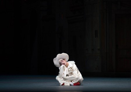 "Thomas Forster in Alexei Ratmansky's staging of ""Harlequinade"" Photo by Rosalie O'Connor"