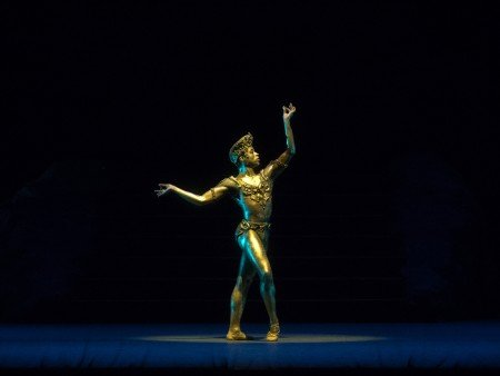"Gabe Stone Shayer in Natalia Makarova's staging of ""La Bayadère"" Photo by Rosalie O'Connor"
