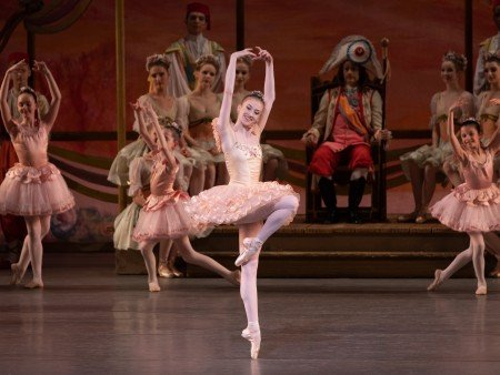 "Baily Jones and students from the School of American Ballet in New York City Ballet's production of ""Coppelia"" Photo by Erin Baiano"