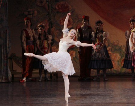 "Sterling Hyltin in New York City Ballet's production of ""Coppelia"" Photo by Paul Kolnik"