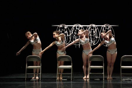 "Members of RIOULT Dance NY in ""Les Noces"" Photo by Eric Bandiero"