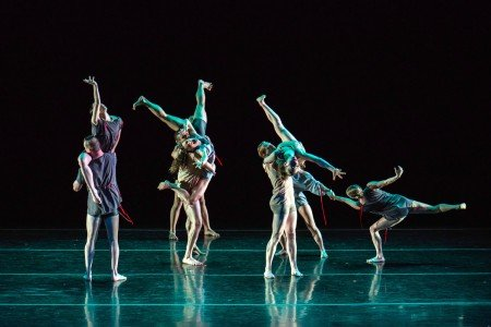"""Members of RIOULT Dance NY in """"Nostalghia"""" Photo by Emma Kazaryan"""