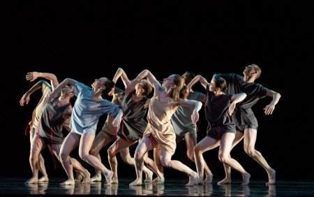 """Members of RIOULT Dance NY in """"Nostalghia"""" Photo by Nina Wurtzel"""