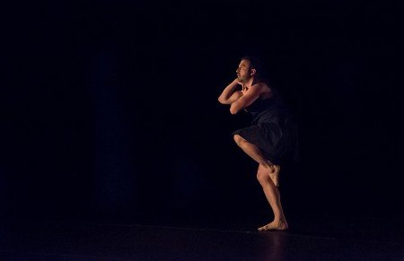 "Daniel Roberts in ""Personal Forest"" Photo by Marcia Davis"