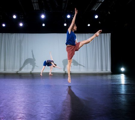 "Dancers in Daniel Roberts's ""Further Afield"" Photo by Marcia Davis"