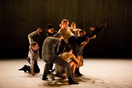 "Whim W'Him dancers in Olivier Wevers's ""Silent Scream"" Photo courtesy of Whim W'him"