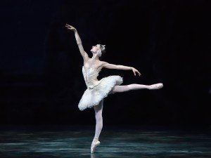 "Christine Shevchenko in ""Swan Lake"" Photo by Gene Schiavone"