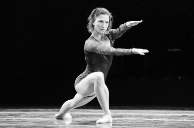 "Ashley Bouder in a prior performance of Liz Gerring's ""Duet""   Photo by Diana Mino"